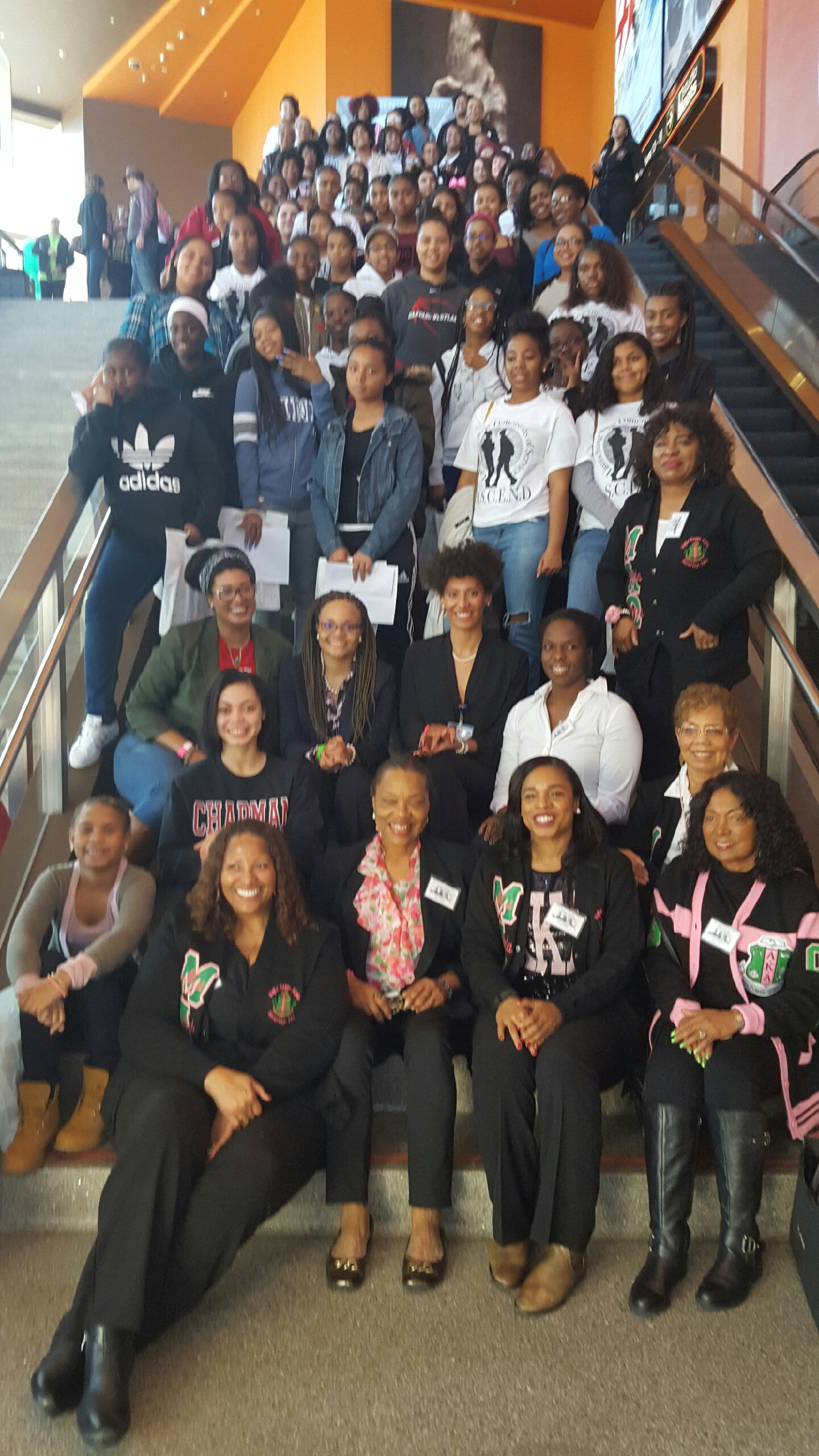 MLO hosts 100 Girls for Hidden Figures Film