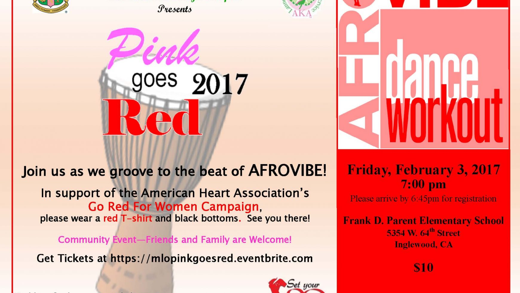 Pink Goes Red for Heart Health 2017