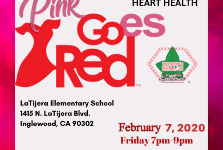 Pink Goes Red for Heart Health 2020