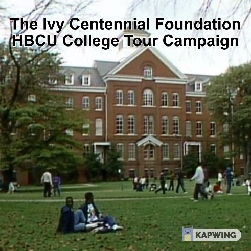 Click Here to Learn More About the ICF HBCU College Tour Campaign