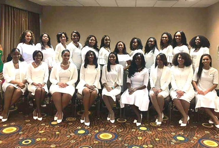 MLO Welcomes 21 New Sorors to Alpha Kappa Alpha Sorority, Inc!