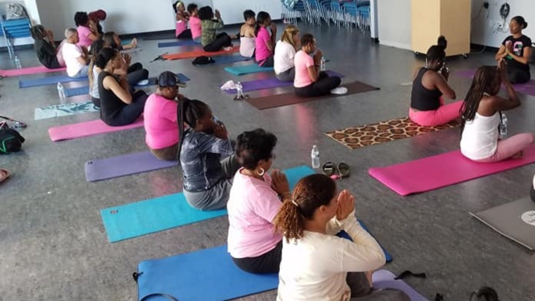 MLO Hosts Pink Ribbon Yoga