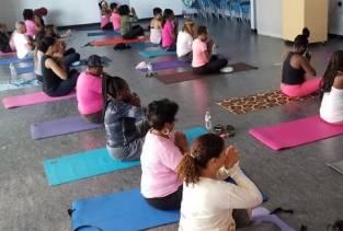 MLO Hosts Pink Ribbon Yoga