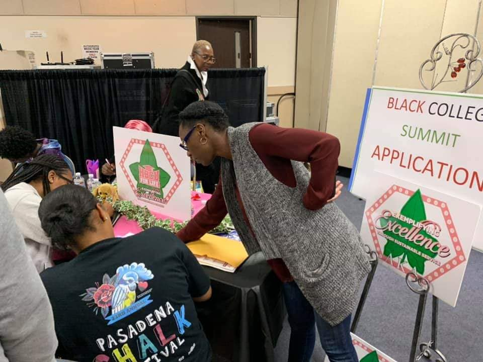 MLO Participates in 9th Annual Holman Methodist HBCU College Fair