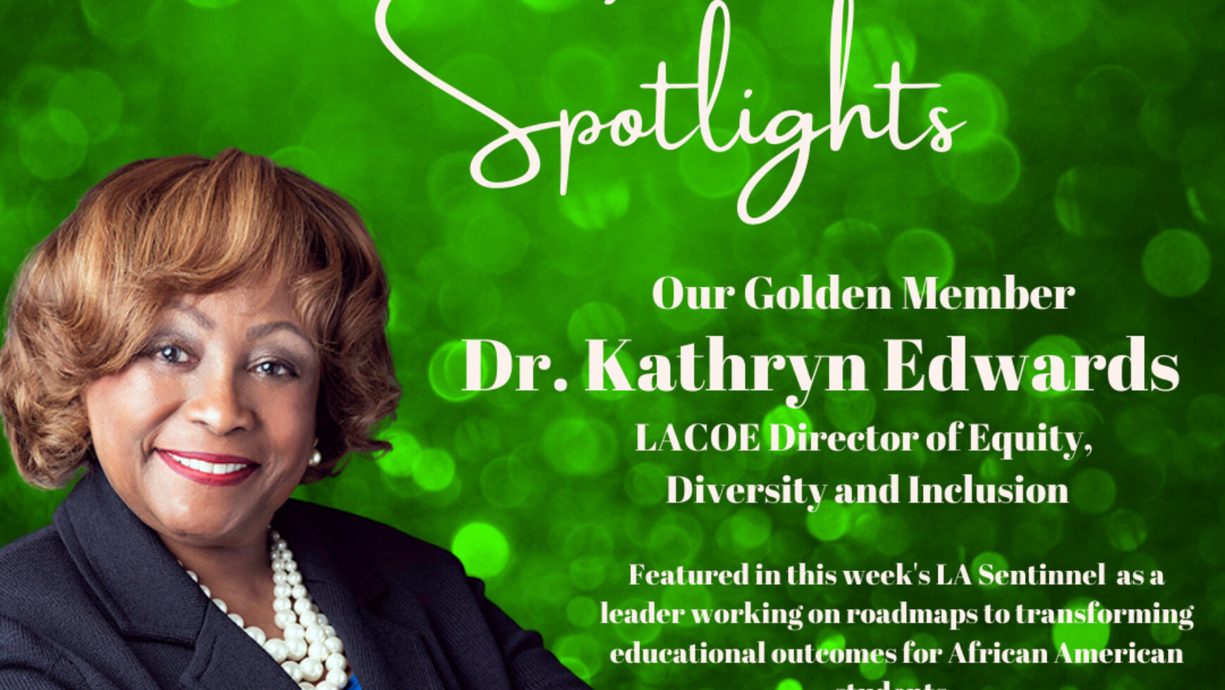 MLO Spotlights Kathryn Edwards, LACOE Director of Equity, Diversity and Inclusion