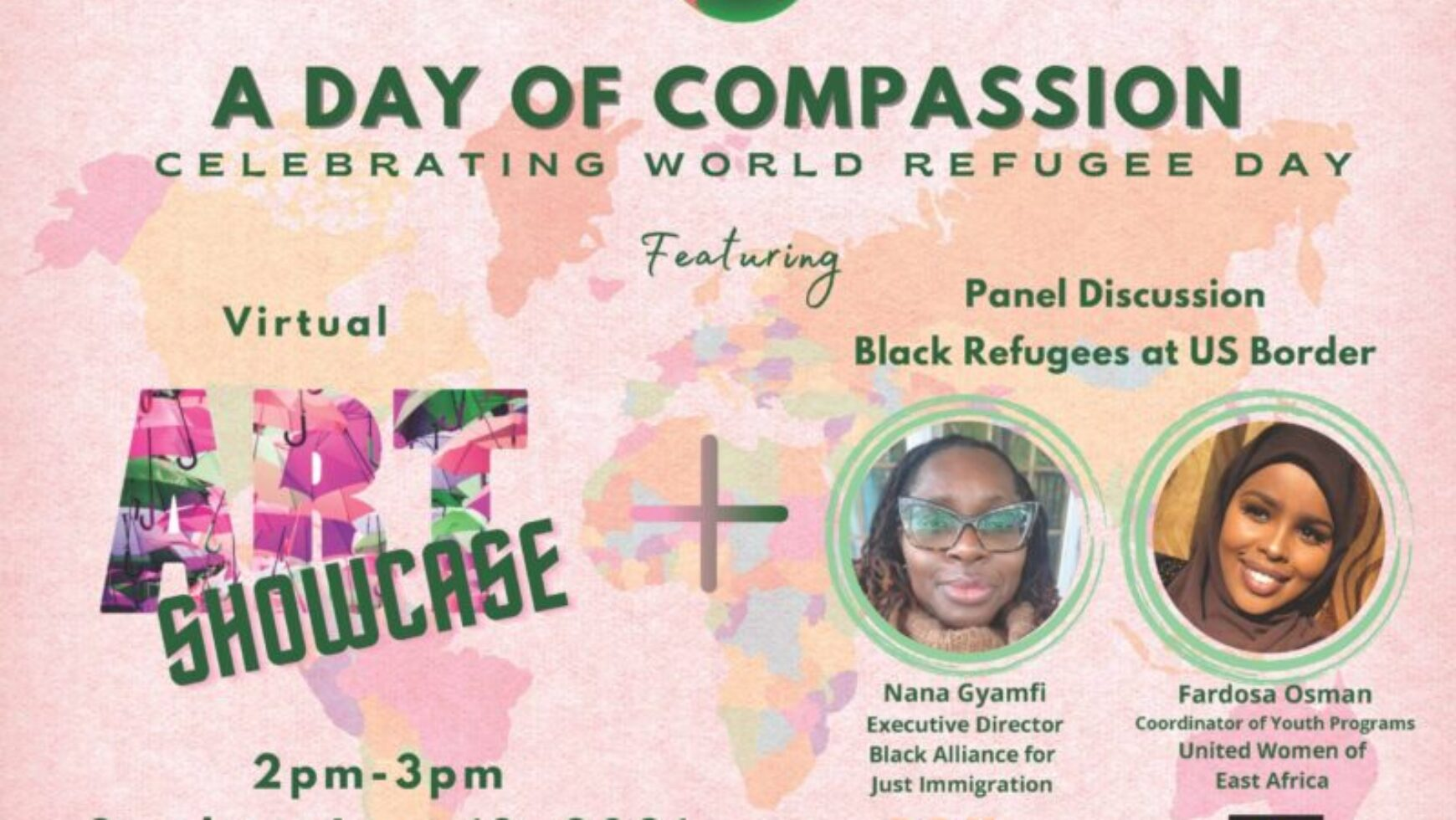 A Day of Compassion: Black Refugees at US Border