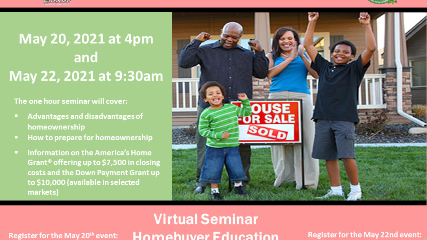 MLO Hosts Homebuying Seminar